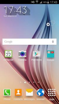 Turbo Launcher® Theme S6 poster