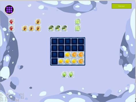Fill the Fridge Puzzle apk screenshot