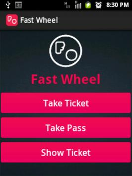 Fast Wheel poster