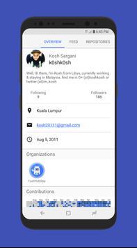 FastHub Screenshot 2