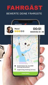 Fastaxi Driver – Deine Taxi App screenshot 12