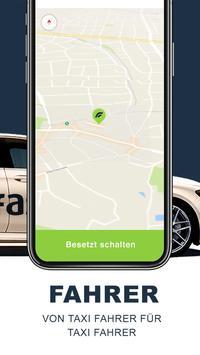Fastaxi Driver – Deine Taxi App screenshot 1