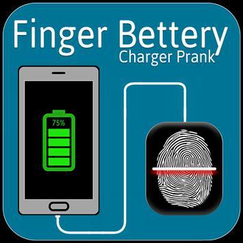 Finger Battery Charger Prank screenshot 1