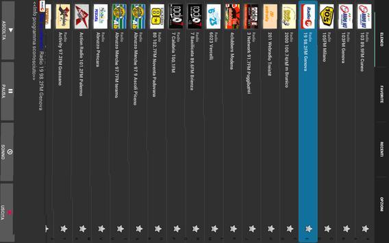 Radio Italiane in streaming screenshot 9