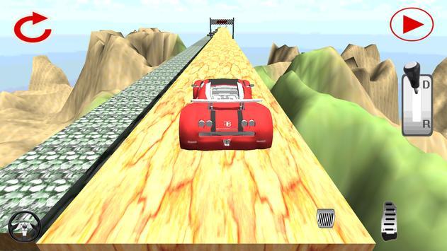 Fast Cars climbing hill apk screenshot