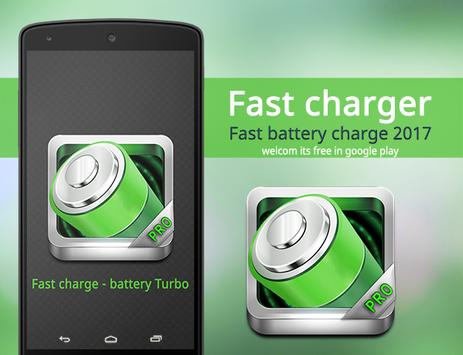 Turbo Battery - fast charge poster