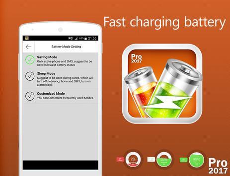 🔋 Fast Charging Battery 2017 screenshot 3