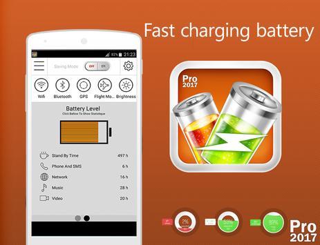 🔋 Fast Charging Battery 2017 screenshot 1