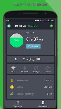 Super Fast Battery Charger poster