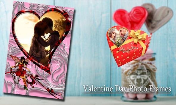 Valentine Day Photo Frames poster
