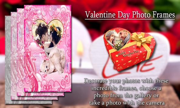 Valentine Day Photo Frames apk screenshot