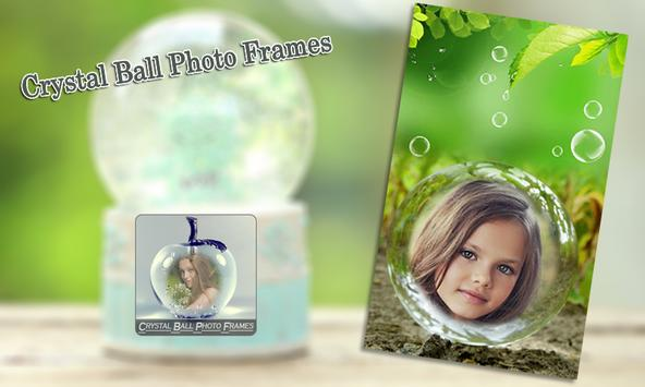 Crystal Ball Photo Frames apk screenshot