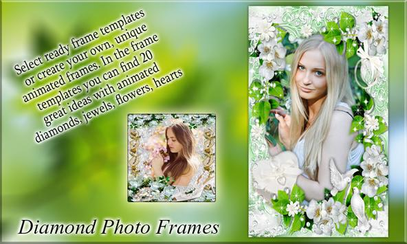 Diamond Photo Frames poster