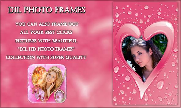 Dil Photo Frames poster