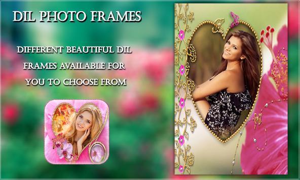 Dil Photo Frames screenshot 1