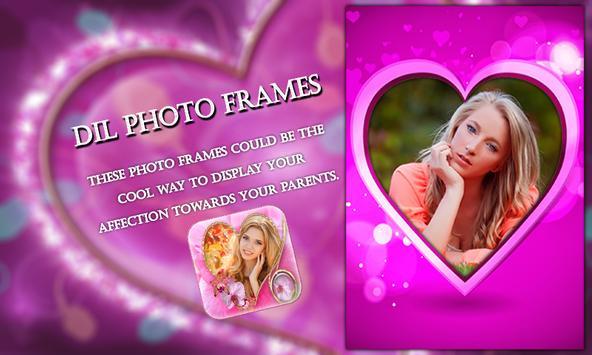 Dil Photo Frames apk screenshot