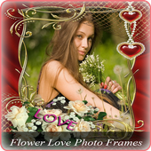Flower Love Photo Frames icon