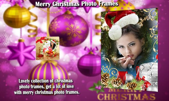 Merry Christmas Photo Frames screenshot 1