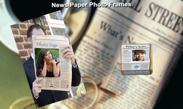 NewsPaper Photo Frames apk screenshot