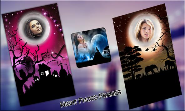 Night Photo Frames poster