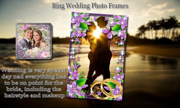 Ring Wedding Photo Frames screenshot 3