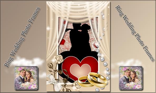Ring Wedding Photo Frames poster