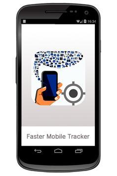 Faster Mobile Tracker poster