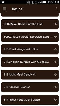 Fastfood Variety Recipes apk screenshot