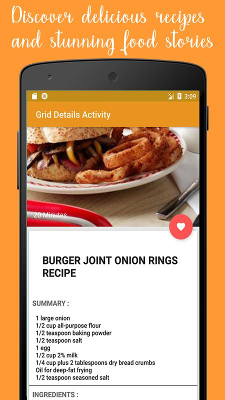 Recipes fast food at home descarga apk gratis comer y beber recipes fast food at home captura de pantalla de la apk forumfinder Image collections