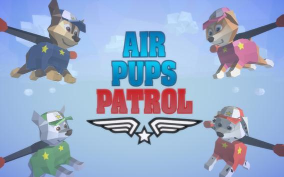 Pups Air Patrol poster