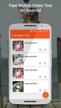 Fast Motion Video Tool poster