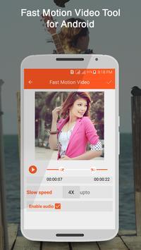 Fast Motion Video Tool apk screenshot