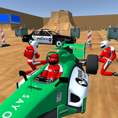 Enjoyable Formula Car Police Chase icon