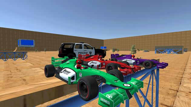 Enjoyable Formula Car Police Chase screenshot 2