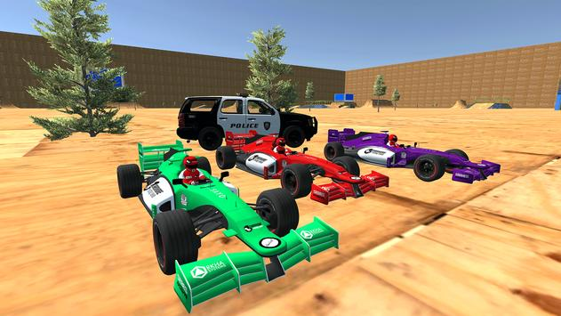 Enjoyable Formula Car Police Chase screenshot 3
