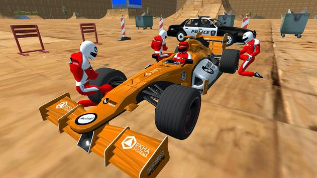 Enjoyable Formula Car Police Chase screenshot 4