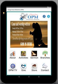Omega Power Ministries (OPM) screenshot 3