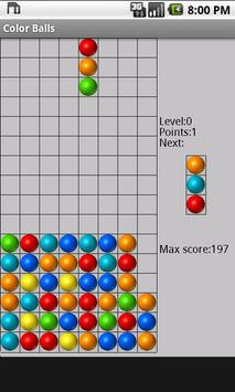 Color Balls apk screenshot