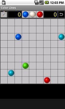 Color Lines apk screenshot