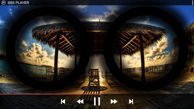 SBS 3D VR Player apk screenshot