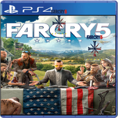 Far Cry 5 PS 4 2018 Final Review Game icon