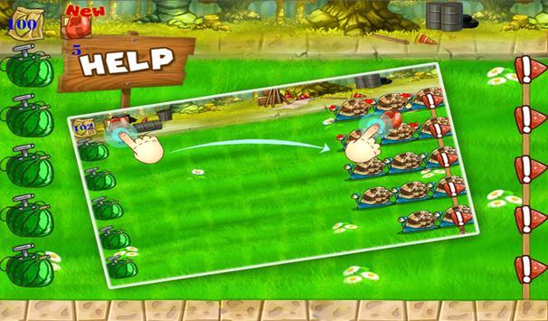 Farm Defense: Angry Monster screenshot 1