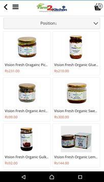 Farm2Kitchen - Organic Foods screenshot 14