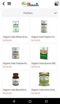 Farm2Kitchen - Organic Foods screenshot 19