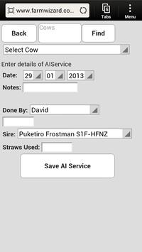 FarmWizard Bluetooth Livestock screenshot 1