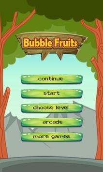Bubble Fruits poster
