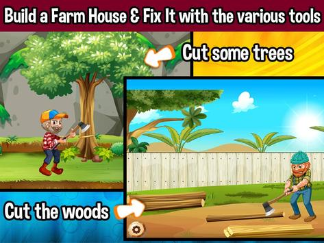 Farm House Builder screenshot 1
