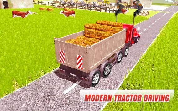 Tractor Farming 2018 : Cargo Transport Driving 3D screenshot 6