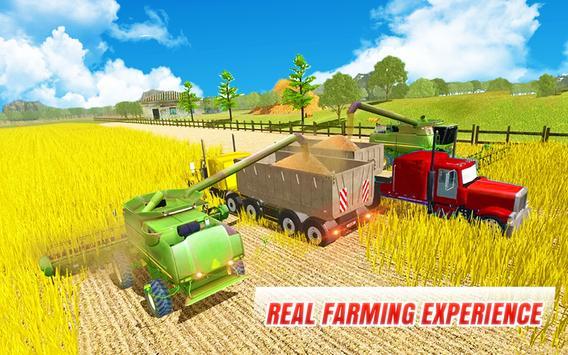 Tractor Farming 2018 : Cargo Transport Driving 3D screenshot 9