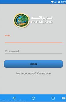 FarmLand Tracking apk screenshot